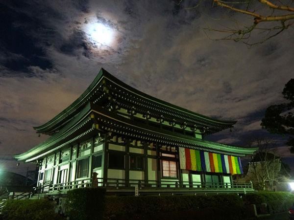 夜の圓融寺