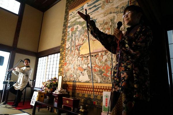 長谷寺の絵解き