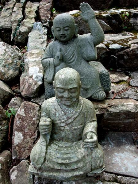 方広寺の羅漢像