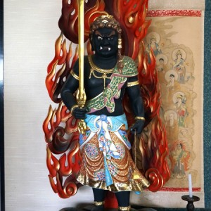 無量寿寺の不動明王