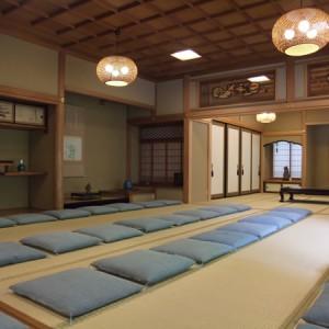 お寺の部屋