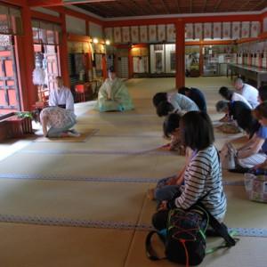 談山神社正式参拝