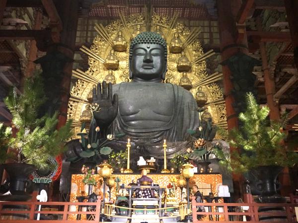 奈良の大仏(盧舎那仏)