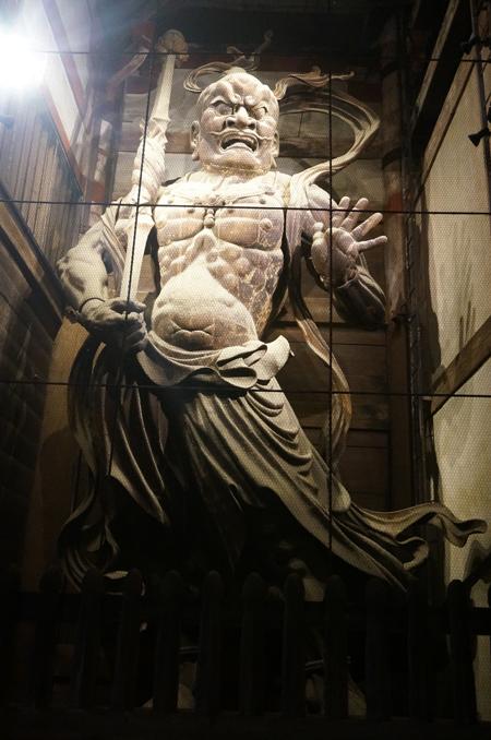 東大寺の仁王像(阿形)