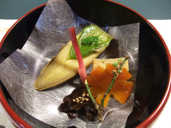 泉竹の精進料理