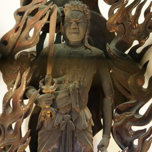 京都府・六角堂の不動明王