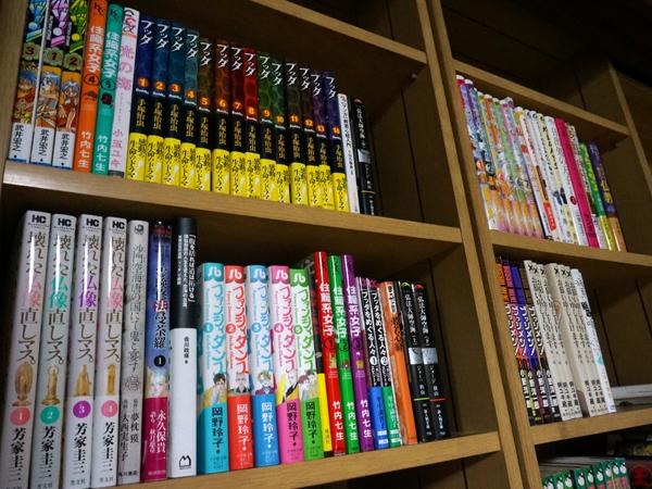お寺の漫画図書館