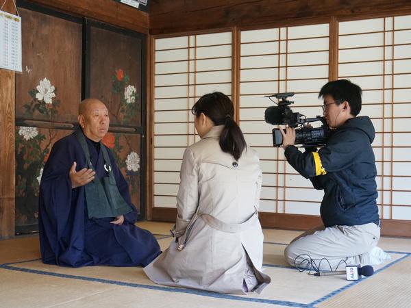 正覚寺の石井住職インタビュー