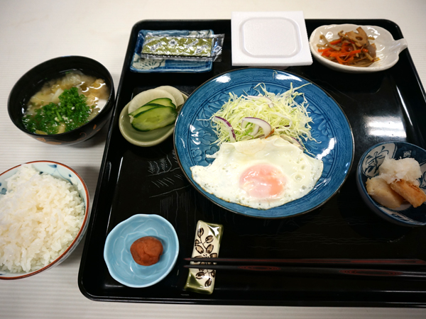 西本願寺鹿児島別院の朝食