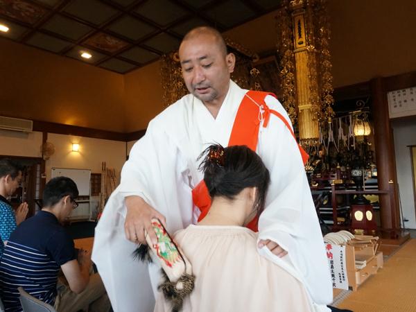 本昌寺の祈祷