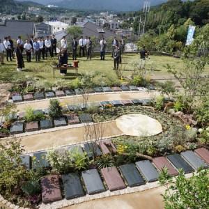 厚木長谷寺の樹木葬墓地