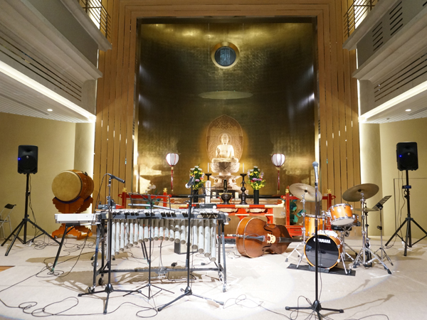 お寺のコンサート