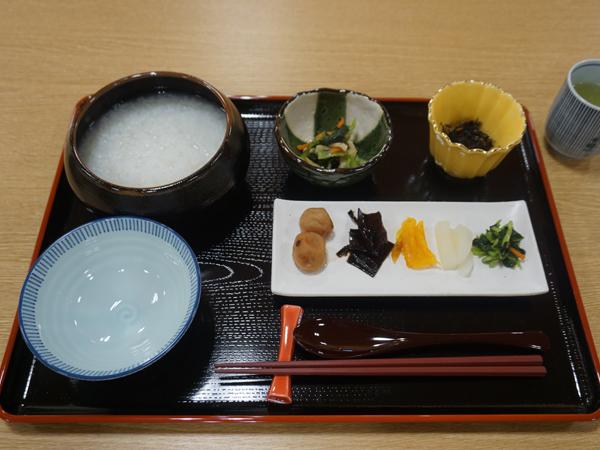 和空下寺町の朝粥
