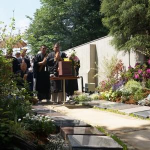 アンカレッジの樹木葬