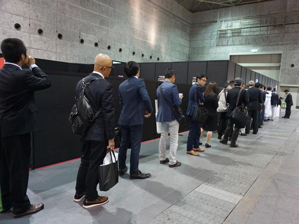 エンディング産業展・伊藤社長のセミナー行列