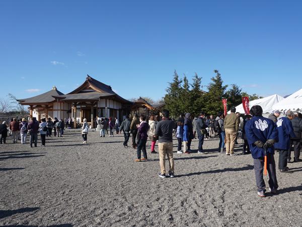 天明寺の境内