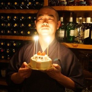 本多さんと卒業ケーキ