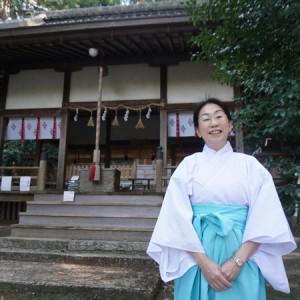 葛木御歳神社・東川優子さん