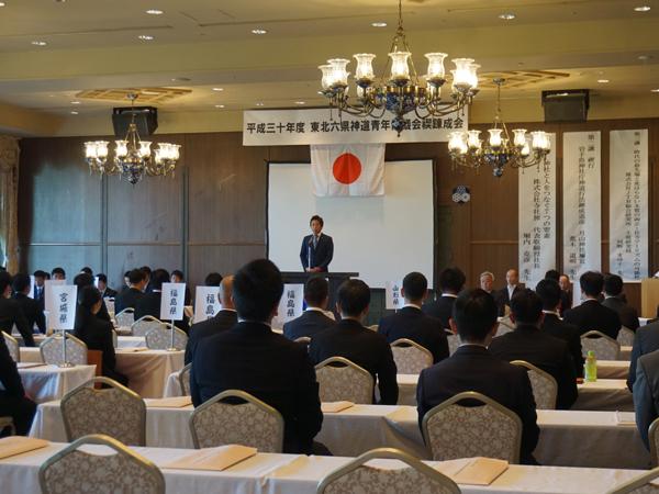 東北六県神道青年協議会の禊錬成会