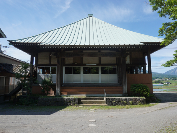 了廣寺の本堂