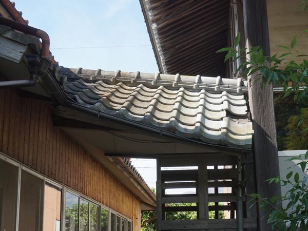 了廣寺の屋根