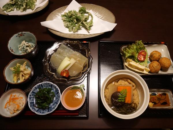 了廣寺の精進料理