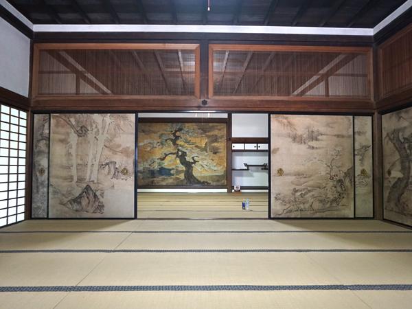 三井寺の光浄院客殿