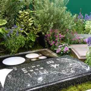 樹木葬の展示