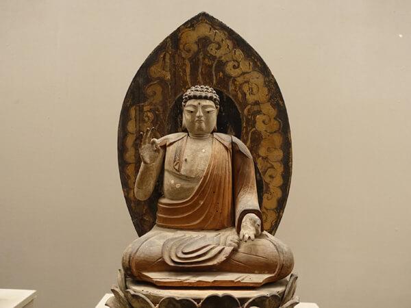阿弥陀如来坐像(和歌山県立博物館)