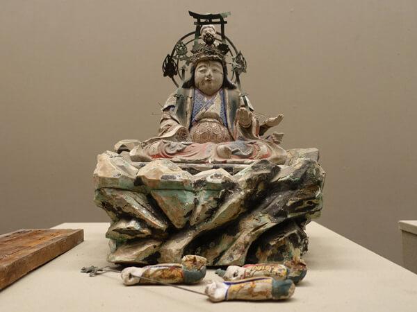 弁才天(和歌山県立博物館)