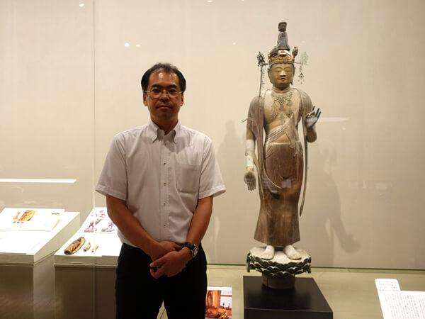和歌山県立博物館の大河内智之さん