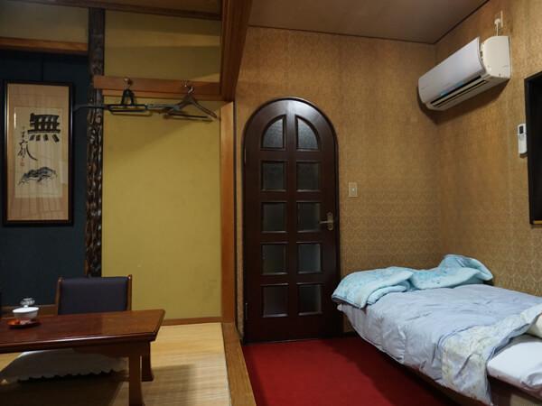 浄土真宗のお寺の客室