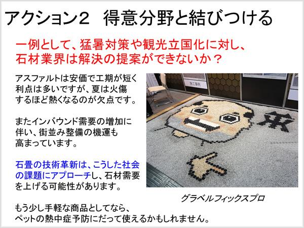 石畳の技術革新