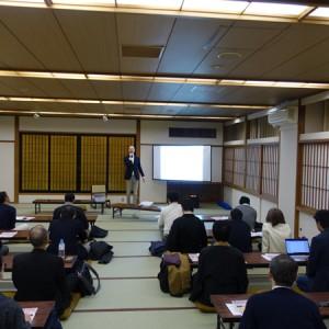 築地本願寺でのほーりー講演