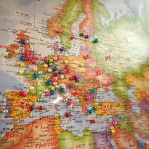 越志旅館の世界地図