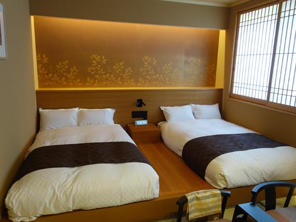 和空法隆寺の客室