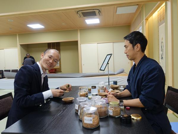 和空法隆寺のお香づくり体験