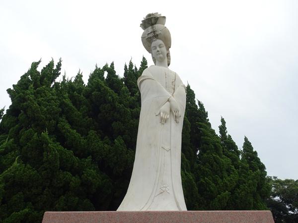 二尊院の楊貴妃像