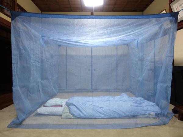 法華寺の蚊帳
