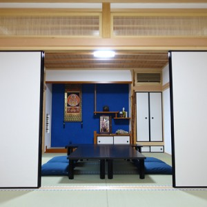 二尊院の客室