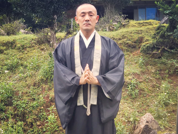 飯盛寺杉本副住職