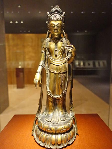 東京国立博物館の観音菩薩