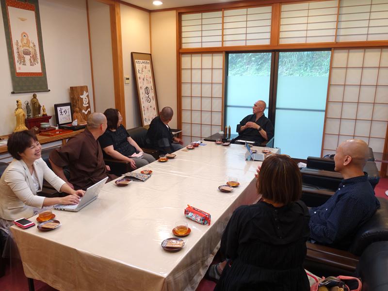 山陰宿坊ネットワークのミーティング