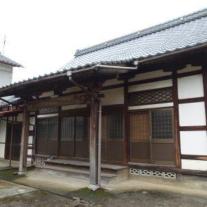 福井県妙光寺の本堂